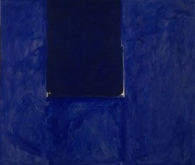 Robert Motherwell - Untitled (Ultramarine), 1974