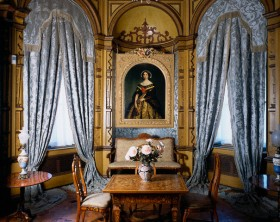 Sitting Room at Miramare Castle